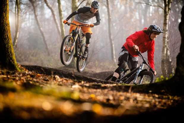 four British trail/enduro bikes get the MBUK tested treatment. Photo: Mick Kirkman