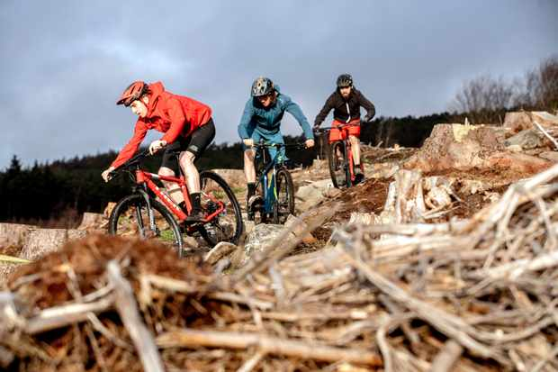 Check out our thoughts on how fast, fun and cabable these four sub £1,500 hardtail XC bikes are. Photo: Mick Kirkman