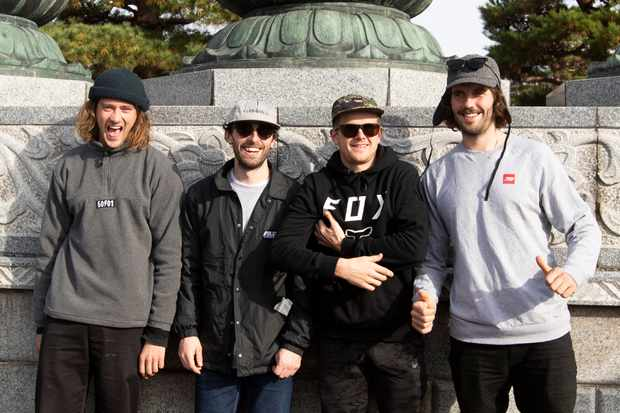 JAPAN - November 2018 - during the 50:01 trip to Tokyo, Nagano, Fujimikogen & Hakuba with Josh Lewis, Craig Evans, Sam Dale and Mark Scott. Photo by Gary Perkin