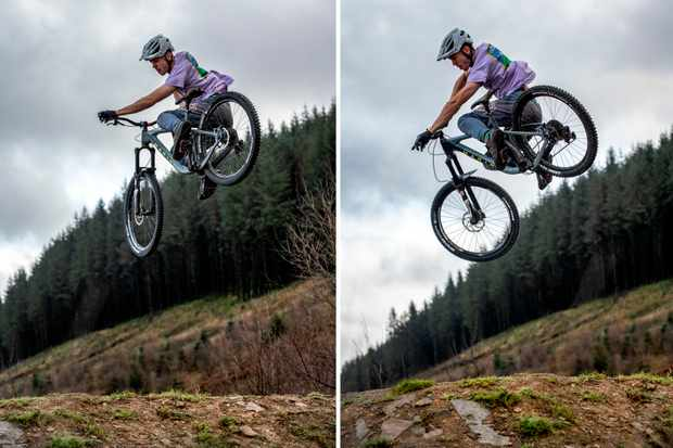 Whips don't lie. A couple of alternative angles that didn't make the cover. Photos: Andy Lloyd