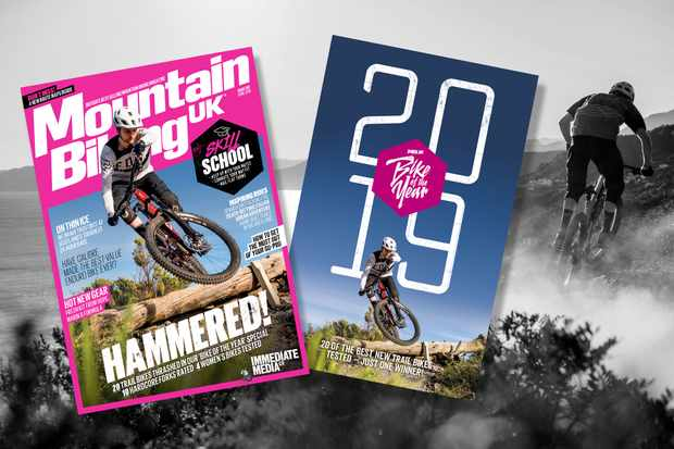 Our Bike of the Year supplement comes free with April's mag