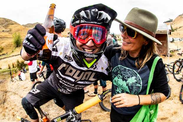 """""""Cheers!"""" Beer has and always will be Peaty's secret to racing success"""