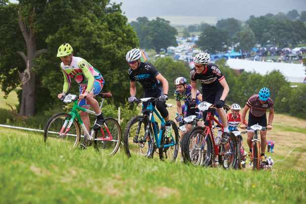 You don't have to be a gravity fiend or have the latest bike to enjoy the racing at the Malverns. Photo: Steve Behr