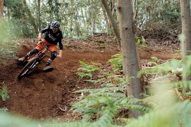 : Brendan Fairclough knows how to handle a bike and gives you his tops tips on how to improve your cornering and jumping. Photo: Duncan Philpott