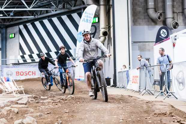 Bosch eBike Systems MTB Track supported by MBUK