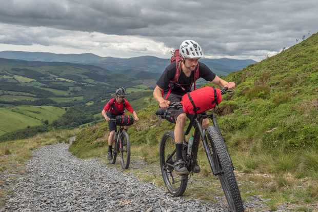 Bikepacking the Trans-Cambrian Way